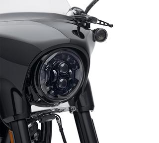 ハーレー純正 7インチ デーメーカー アダプティブLEDヘッドライト 黒