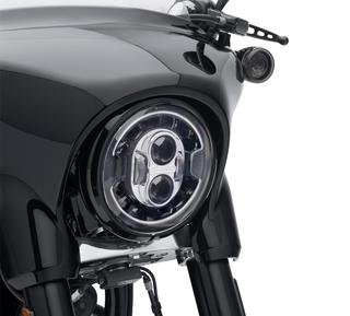 ハーレー純正 7インチ デーメーカー アダプティブLEDヘッドライト クローム
