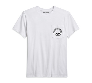スカル・ポケットTシャツ
