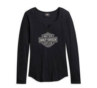 ノッチ・ネックTシャツ【Women's】