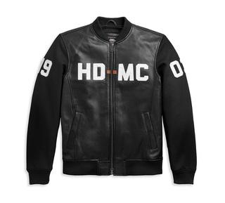 HD-MC異素材ミックス・ボンバージャケット【Men's】