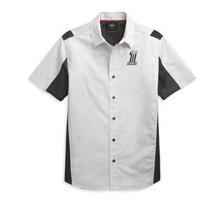 パフォーマンス・カラーブロック・#1ロゴ・シャツ【Men's】