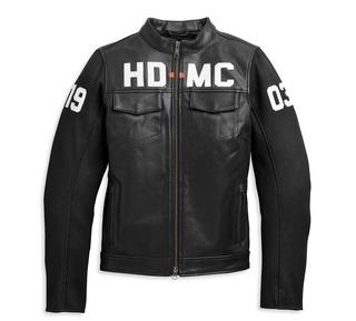 HD-MC異素材ミックス・ボンバージャケット【Women's】