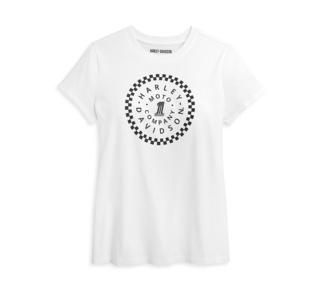 #1サークル・グラフィック・Tシャツ【Women's】