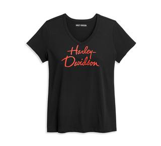 スクリプト・グラフィック・Tシャツ【Women's】