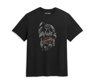 シャッタード・スカル・グラフィックTシャツ【Men's】
