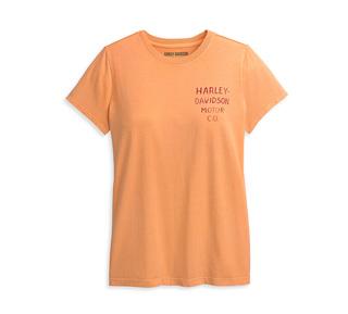 ダブル・ロゴ・グラフィックTシャツ【Women's】