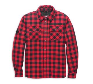 オペレイティブ・フランネル・ライディングシャツジャケット【Men's】【スリムフィット】