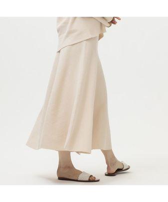 ブークレーフレアニットスカート