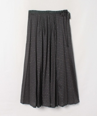 ラメローンスカート