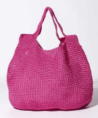 カギ編みバッグ