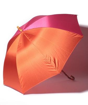 バイカラー長傘
