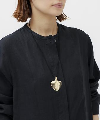真鍮ペンダントネックレス
