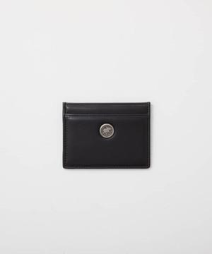 バチューレザー[カードケース]ブラック×ブラック6119038008メンズ