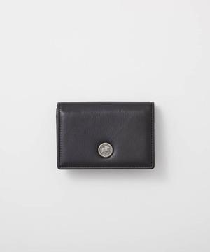 バチューレザー[カードケース]ブラック×ブラック6119038108メンズ