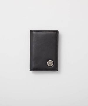 バチューレザー[カードケース]ブラック×ブラック6119038208メンズ