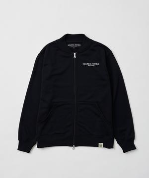 ボルネオ[フルジップスウェット]ブラック6214610408メンズ