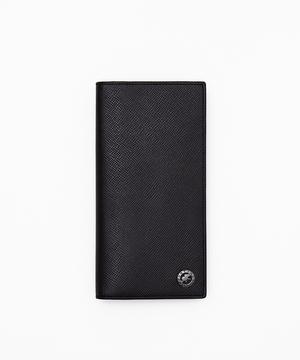 クリスタルグレイン[ロングウォレット]ブラック6119206408メンズ&ウィメンズ