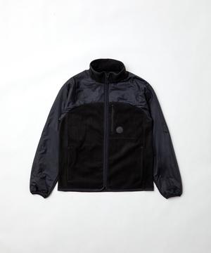 [フリースキャンプジャケット]ブラック6204610108メンズ