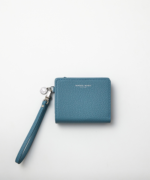 エリカ[ダブルウォレット]ブルー26000ERC BLウィメンズ