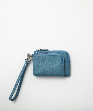 26300 ERC <新作> エリカ [ポーチ] ブルー WOMEN