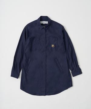 ミリタリーシャツ ネイビー12ST52NVウィメンズ