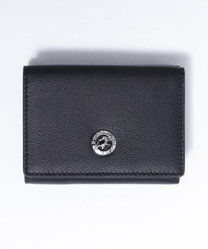 25100VOLヴィオラ[三つ折り財布]ブラックWOMENS