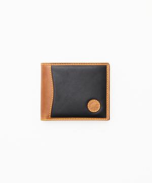 バチューサーパスモンタナ[2つ折り財布] ブラック×キャメル<Web再入荷>93001BSS BKCA