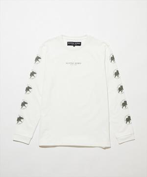 11TS05 <新作> [ロングスリーブTシャツ] メンズ ホワイト