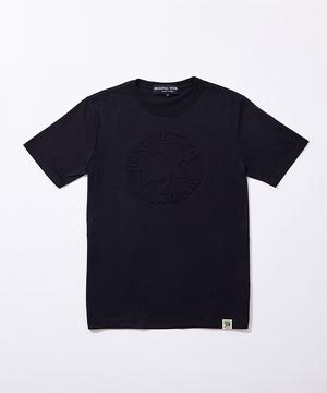 11BC02 ボルネオチャリティー<新作> [エンボス Tシャツ] メンズ ブラック