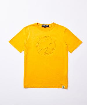 11BC02 ボルネオチャリティー<新作> [エンボス Tシャツ] メンズ イエロー