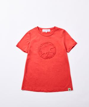 11BC52 ボルネオチャリティー<新作> [エンボス Tシャツ] ウィメンズ ピンク