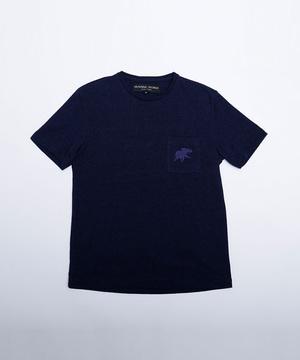 11TS02 <新作> [ポケットTシャツ] メンズ ネイビー