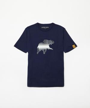 11TS03 <新作> [プリントTシャツ] メンズ ネイビー