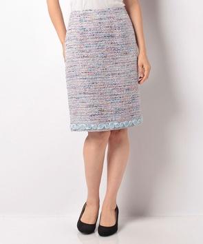 マルチヤーンツィードスカート