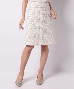 【セットアップ対応商品】ファンシーモールツィードスカート