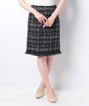 【セットアップ対応商品】トゥルニエファンシーツィードスカート