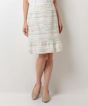 ビタミンカラーツィードスカート