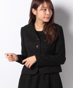 【セットアップ対応商品】ラメツィードジャケット