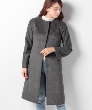 ウールシャギーコート