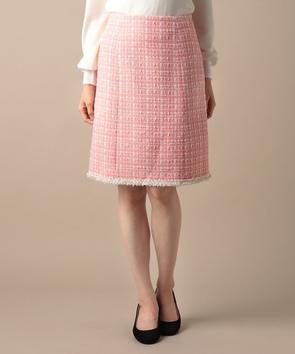 ウールロービングツィードスカート