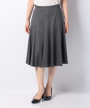 【セットアップ対応商品】シルキーストレッチポンチスカート