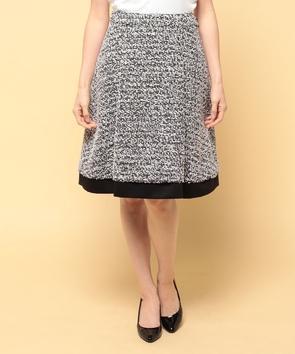 【セットアップ対応商品】リントンテープツィードスカート