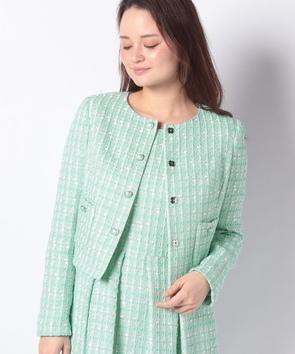【セットアップ対応商品】スクエアメッシュジャケット