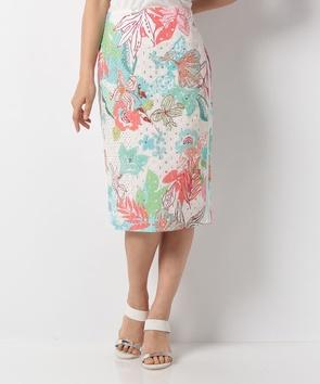 アイレットワークタイトスカート