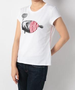 キャッチープリントTシャツ