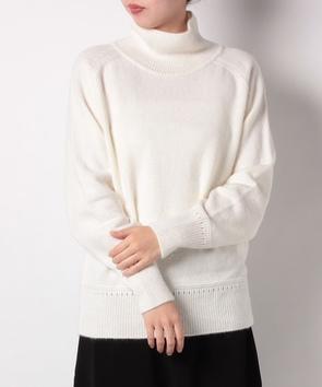 リブネックセーター