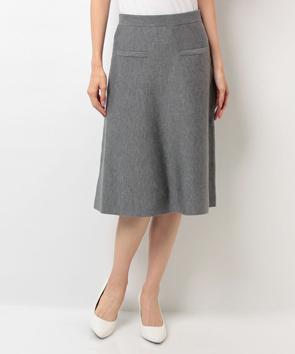 ウールシルクスカート