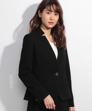 【セットアップ対応商品】パールニットジャージージャケット