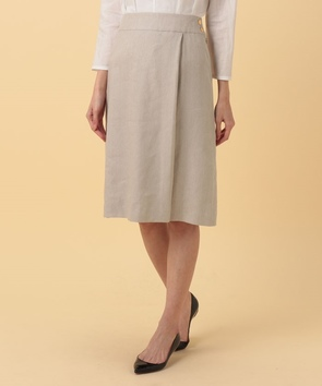 【セットアップ対応商品】リネンキャンバススカート